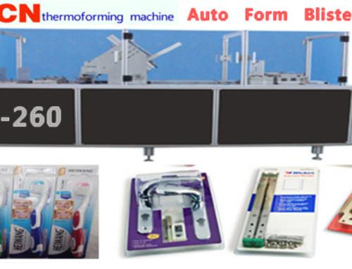 CN-260 Toothbrush Packaging Machine Video