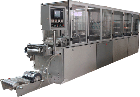 CN-500A blister packaging machine